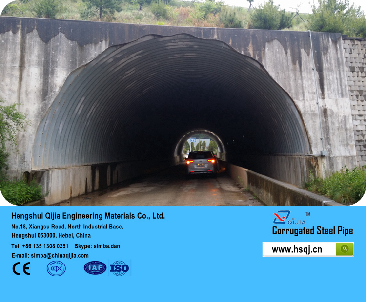 This specification covers polymer precoated corrugated steel pipe for use for water drainage
