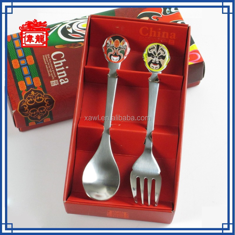 Daily giveaway gift set custom metal cutlery set LPC001