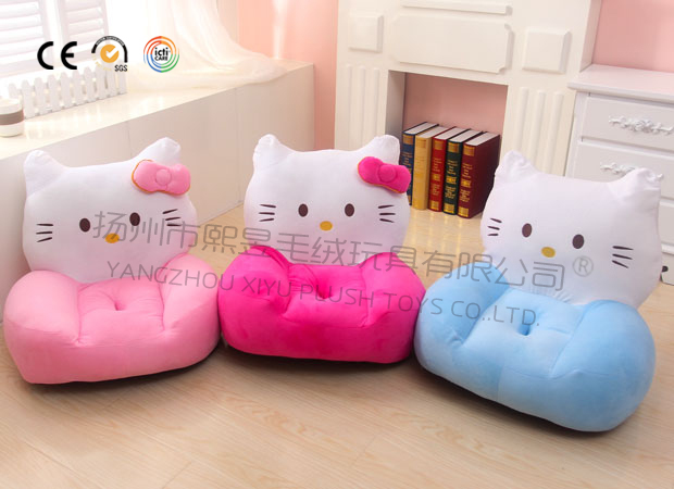 plush baby animal sofa chair soft stuffed animal chairs for kids