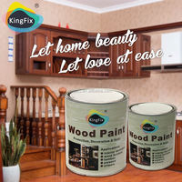 Free Samples KINGFIX transparent wood furniture lacquer wood paint coating