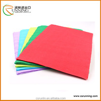 For DIY and Handicraft Making A4 Size Colorful Coated Self Adhesive fancy Paper