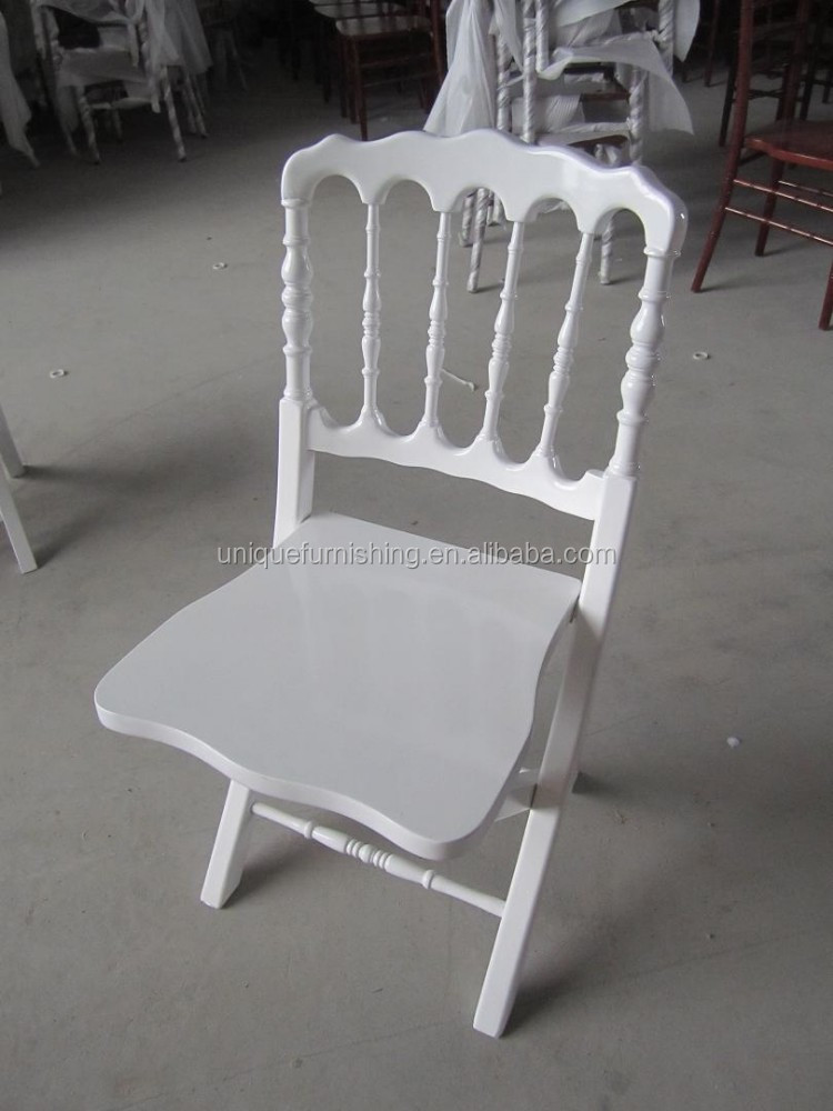 White Wood Folding Napoleon Chairs For Sale Buy Folding Napoleon Chair Napo