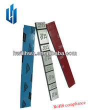 tire weights/zn wheel balance weight/adhesive balancing weight