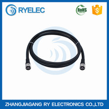 "RG series 50ohm 1/2"" rf jumper coaxial cable with N type male to N type male for base station antenna connection"