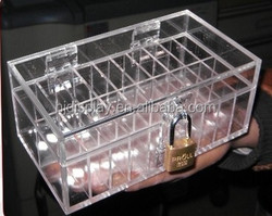 acrylic jewelry display case fugure acylic display case acrylic makeup organizer clear box cosmetic cases