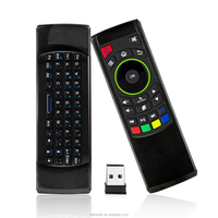 2.4G Mini Wireless Keyboard Mouse Infrared Remote control Learning, 3-Gyro and 3-Gsensor, Air mouse for Windows iOS