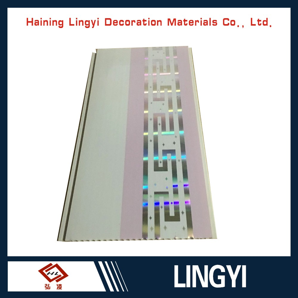 Hot Stamping PVC ceiling panels