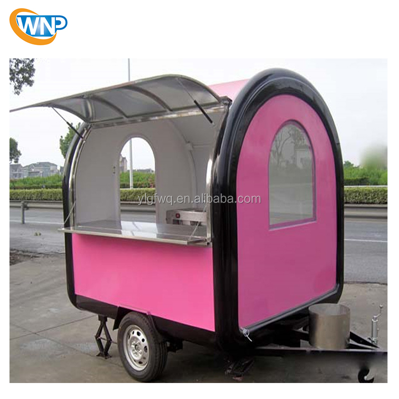 Mobile food truck Dining car CE Fast food trucks trailer Multi-functional Snack