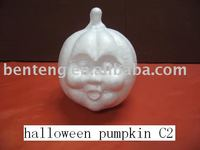 indoor decorative halloween foam white craft pumpkins