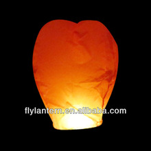 Cheap wholesale ECO-friendly chinese flying paper lantern for wedding