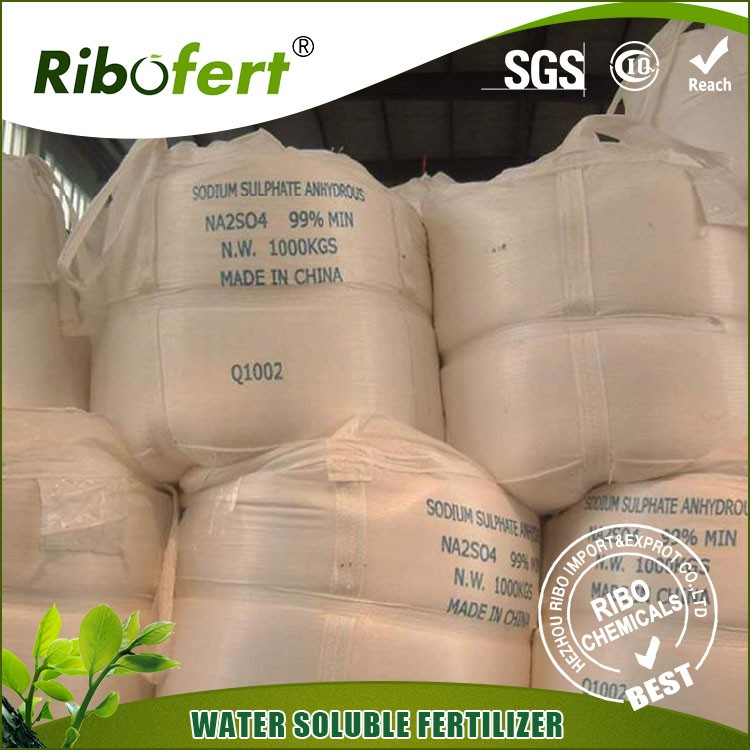Factory price Sateri sodium sulphate anhydrous glauber salt/ssa with great price