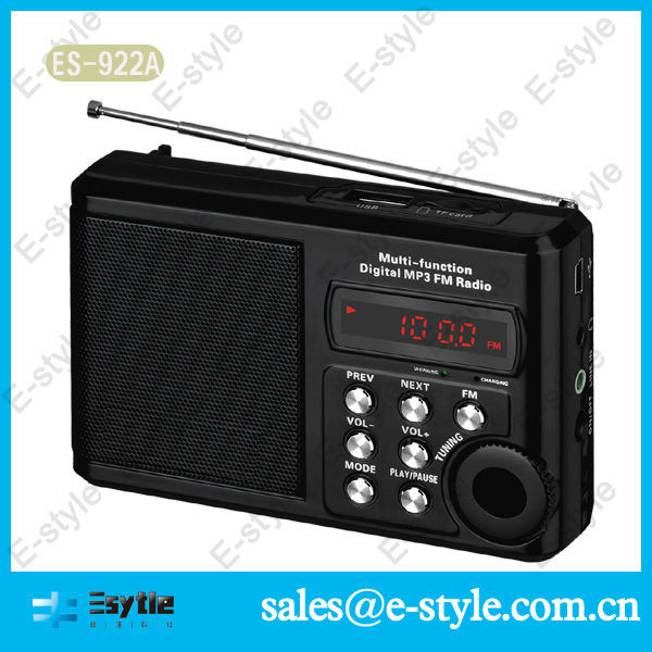 hot sell cheap af mini digital speaker tf usb fm for mp3 mp4 pc with FM receiver for 2014 new product