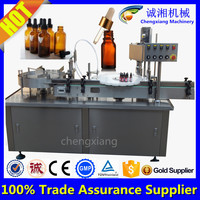 Trade assurance automatic 120ml e-cig oil filler,e liquid filling machine