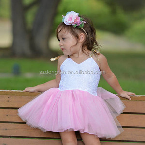 Baby Girl Tutu Princess Dress White Lace Light Pink Gathered Tulle For A  Puffy Tutu Dress 4ddf0338699a