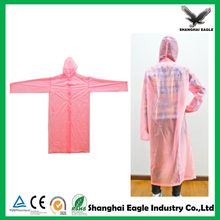 Custom cheap disposable poncho raincoat