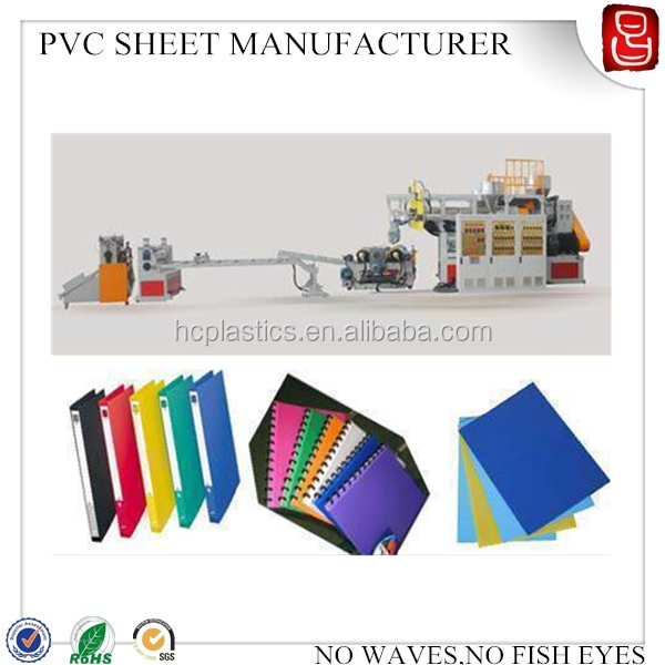 A4 Binding Covers Color Plastic 150mic pvc sheet