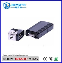 Hot CCTV camera market recordable digital HD 1080P cigarette lighter hidden camera BS-791P