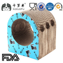 Corrugated Cardboard Production Line Cat Toys Scratcher Board