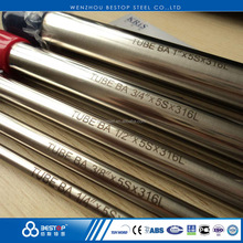 TP316 stainless steel polished tueb