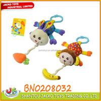 Baby toy custom plush toy animals with music
