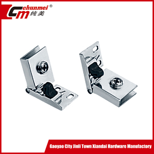 Good design Zinc Shower Door Hinge for Glass