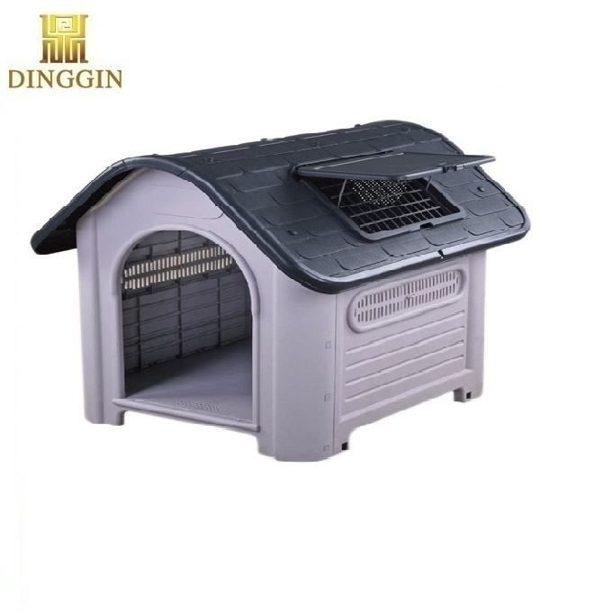 Lovely pet plastic dog house