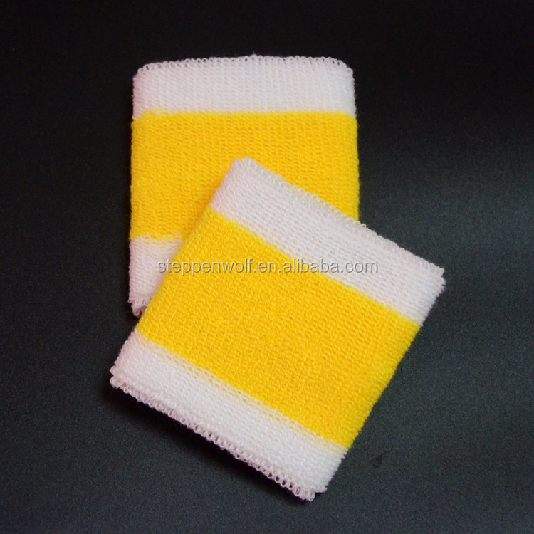 Wholesale Bracer OEM & ODM Cotton Towel Wristband/wrist protector