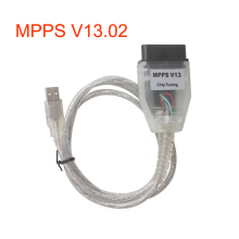 SMPS MPPS K-CAN V13.02 CAN Flasher Chip Tuning ECU Remap obd2 professional diagnostic Cable tuning mpps programmer