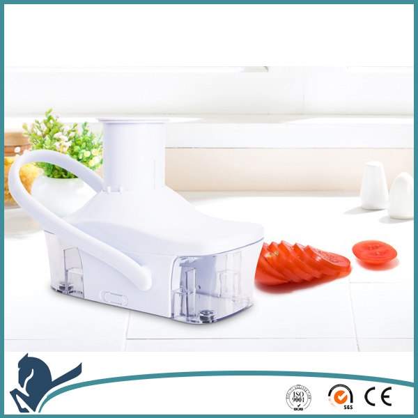 Slice O Matic Adjustable Dial Catch Container Kitchen Fruit Shredder