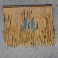 plastic artificial water reed thatch roof