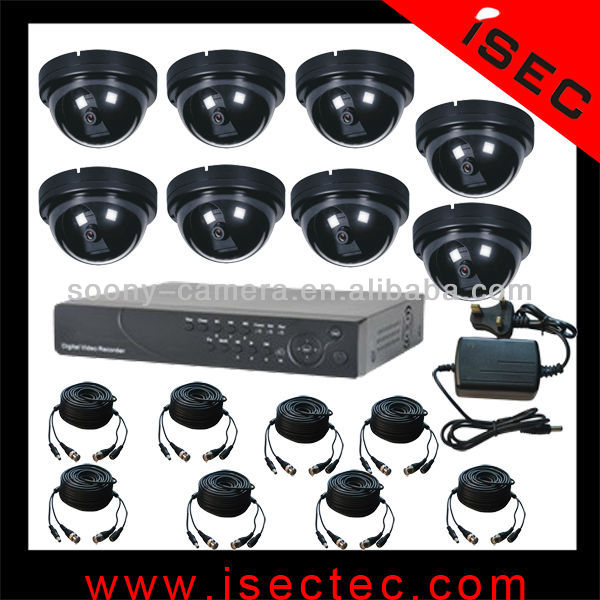 8CH Channel Network H.264 Surveillance Security Cctv Digital Video Recorder Dvr System