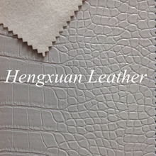 China Wholesale Crocodile Sofa Leather, White Crocodile Leather