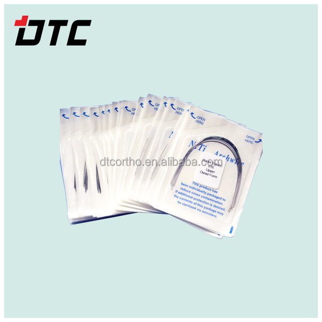 Dental materials square/Ovoid/ Natural /Tapered form round rectangular archwires