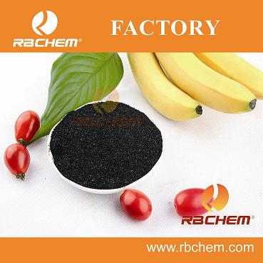 RBCHEM produced high efficient humic acd seaweed extract folia fertilizer in powder