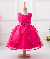 Wedding party princess dresses for girls