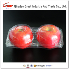 beautiful fruit tray apple fruit packaging PET tray