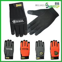 Professional microfiber wear-resisting custom cycling docker gloves