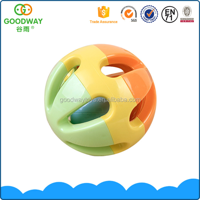 Colorful children game baby music balls toy plastic intelligence ball