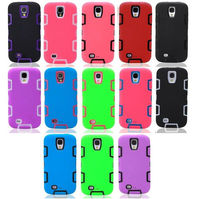 New Products for 2014 PC+Silicon Cheap Mobile Phone Case for Samsung Galaxy S4 i9500,Multicolor phone back cover Samsung S4