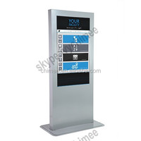 47 inch floor standing mini pc inside intel i5 cpu led screen network digital signage media player