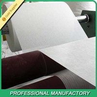 Insulation Material Fiberglass Pipe Wrapping Tissue