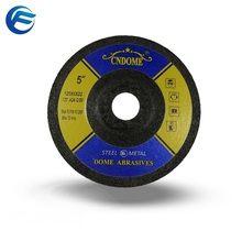 5 inch high porosity steel grinding wheel