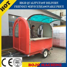 Hot sale best quality crepe cart motorcycle food cart hand push cart