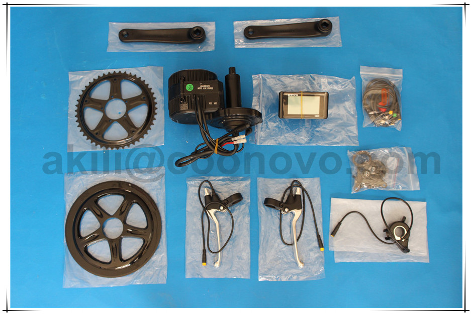 8FUN mid position 250W 36V motor electric /bike bicycle kits