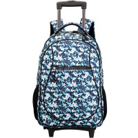 Wholesale Rolling Bags Teenagers Trolley School Backpack