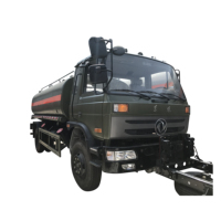 Customized dongfeng rhd or lhd 6 wheels 10000 liters fuel oil dispenser tanker truck with good price