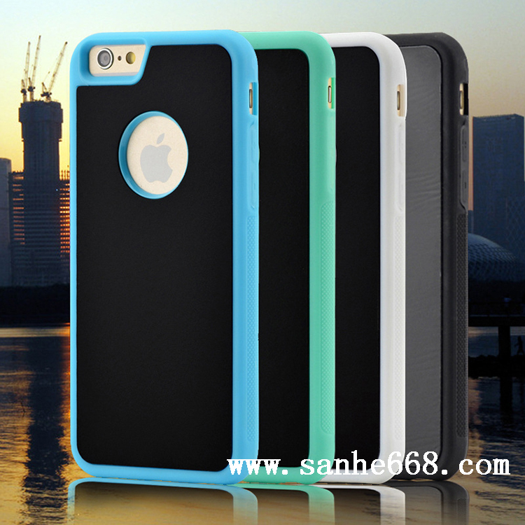 Anti Gravity Phone Case Nano Suction Tech Selfie Mibile Phone Cover Case for iPhone 5 5S SE 6 6S Plus