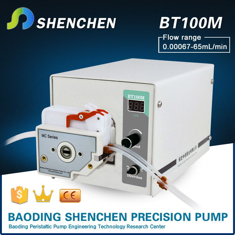 Good quality low flow rate peristaltic pump aquarium,hotsell low flow rate portable peristaltic pump