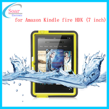 Wholesale new product waterproof tablet case for Amazon Kindle fire HDX,protective tablet case for Amazon Kindle fire HDX