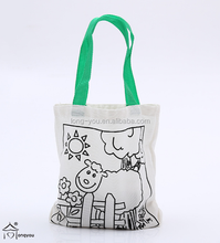 wholesale cheap foldable shopping bag handle/shopping tote bag/bag shopping